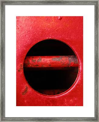 Raw Steel...vertical Framed Print
