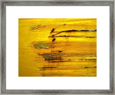 raw Framed Print by Tom Druin