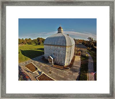 Rawlings Conservatory Framed Print