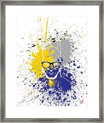 Ray-ban Batman Returns Framed Print by Decorative Arts