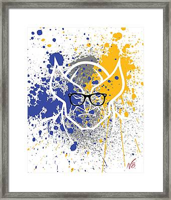 Ray-ban Wolverine Framed Print by Decorative Arts