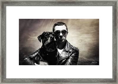 Rays Of Hope Best Friends Framed Print by Jacque The Muse Photography
