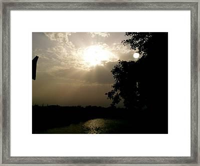 Ray Of Hope Framed Print by Prashant Ambastha