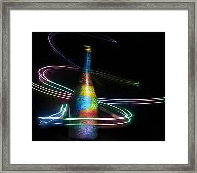 Ray Of Light Framed Print by Kingsley  Gicalde