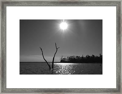 Rayburn Sky Framed Print