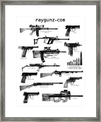 Raygunz Poster Framed Print by Ray Gunz