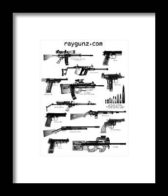 Fn Ps90 Framed Prints