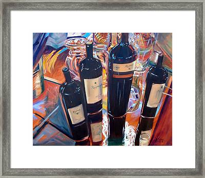 Raymond Vineyards Crystal Cellar Framed Print