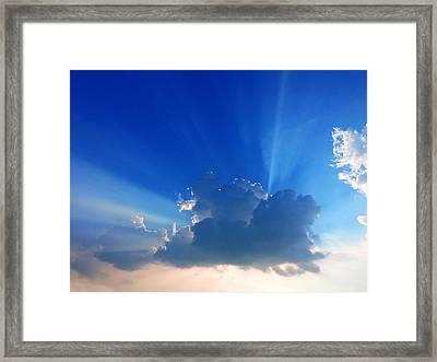 Rays Framed Print by Ayan Mukherjee