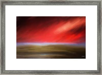 Rays Of Grandeur Framed Print by Lourry Legarde