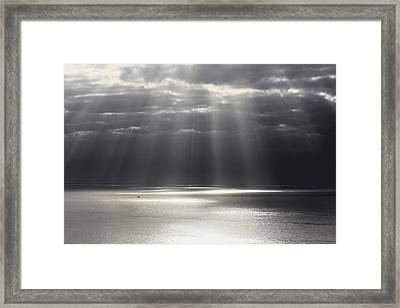 Rays Of Hope Framed Print by Shane Bechler