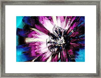 Rays Of Joy - S03-16a Framed Print by Variance Collections