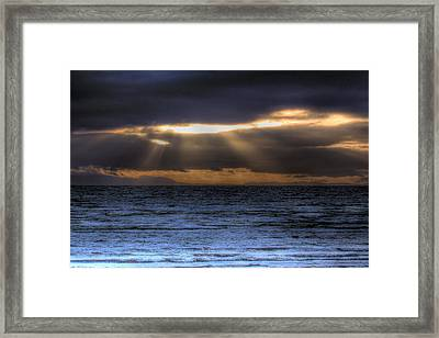 Rays Of Light  Framed Print by Naman Imagery