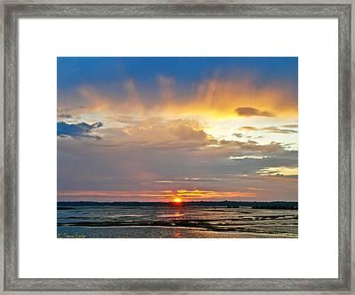 Rays Of Light Framed Print by Lisa Merman Bender