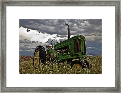 Ray's Old Popping Johnnie Framed Print by Mamie Thornbrue