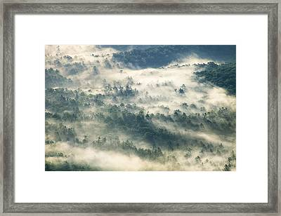 Rays Through The Clouds Framed Print by Andrew Soundarajan