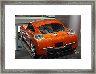 Framed Print featuring the photograph Razor Sharp by Bill Woodstock