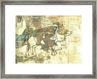 Cave Painting 2 Framed Print