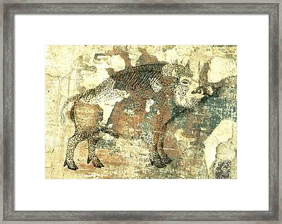 Cave Painting 4  Framed Print