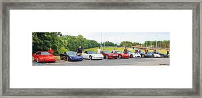 Rcc Crowe Park Forest City Bbq Framed Print