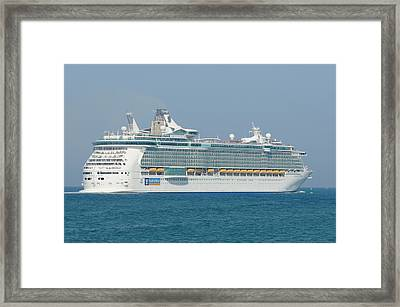 Rci Freedom Of The Seas Framed Print
