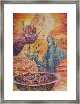 Re-encounter With Borinquen Framed Print by Estela Robles Galiano