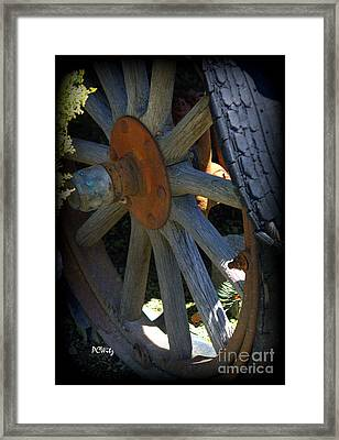 Re-tired Framed Print by Patrick Witz