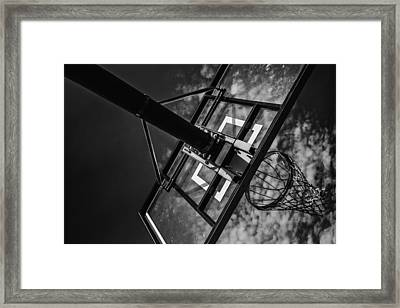 Reach For The Basket Framed Print by Karol Livote