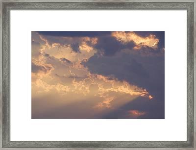 Reach For The Sky 9 Framed Print
