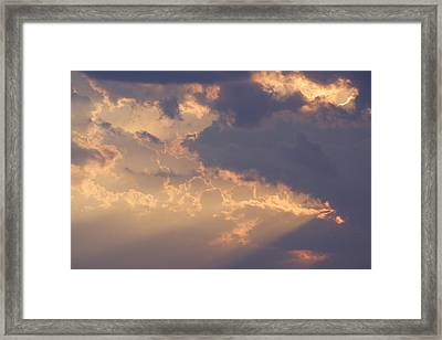 Reach For The Sky 9 Framed Print by Mike McGlothlen