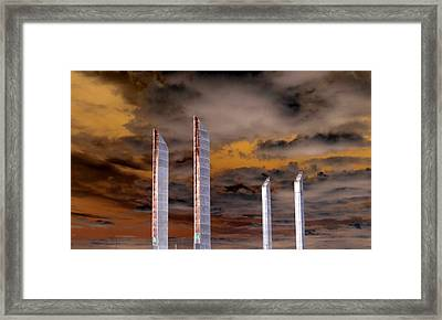 Reach For The Sky Framed Print by Bishopston Fine Art