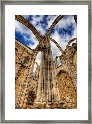 Reach For The Sky Framed Print by English Landscapes