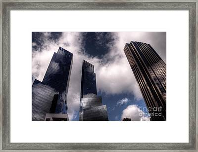 Reach For The Sky  Framed Print by Rob Hawkins