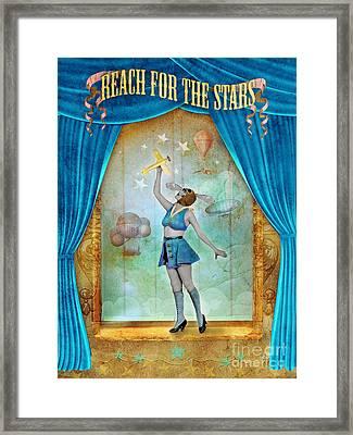 Reach For The Stars Framed Print by Aimee Stewart