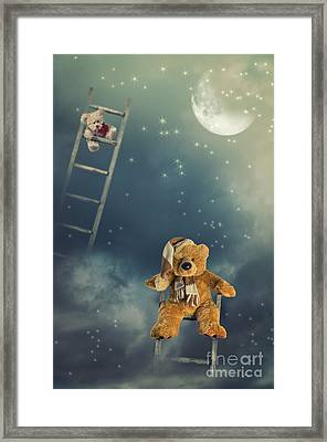 Reach For The Stars Framed Print by Amanda Elwell