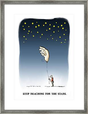 Reach For The Stars Framed Print by Mark Armstrong