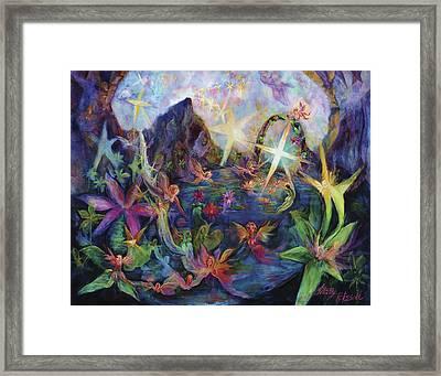 Reach For The Stars Framed Print by Shari Silvey