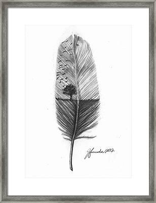 Reach High Framed Print by J Ferwerda