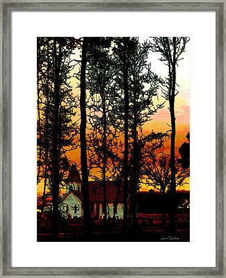 Reach Framed Print by Jeffrey Todd Moore