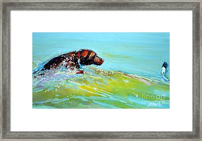 Reach Framed Print by Molly Poole