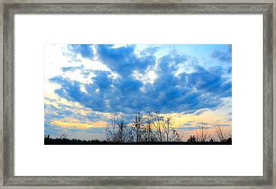 Reach Out And Touch The Sky Framed Print