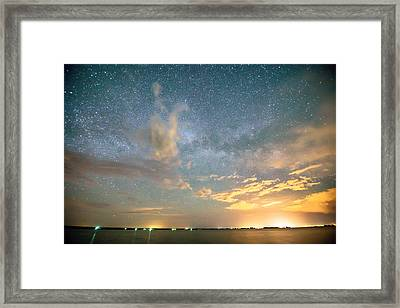 Reach Upon The Stars Framed Print