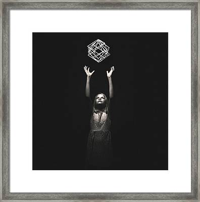 Reaching For A Dream Framed Print