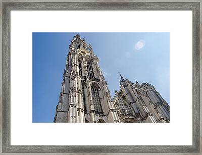 Reaching For Heaven Framed Print