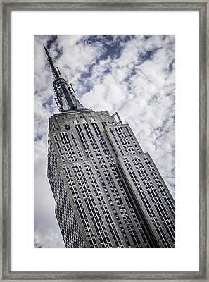 Reaching For The Sky Framed Print by Edward Khutoretskiy