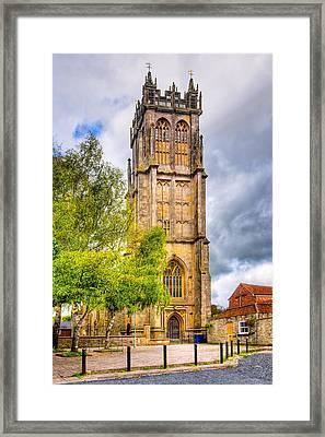 Reaching For The Sky - St John's Church Glastonbury Framed Print