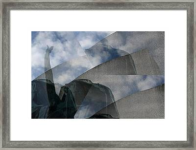 Reaching Heaven Framed Print