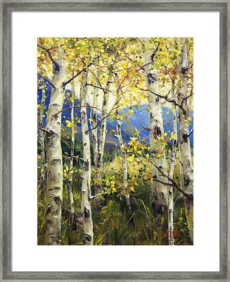 Reaching New Heights Framed Print by Bill Inman