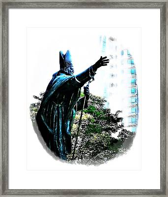 Framed Print featuring the photograph Reaching Out by Mary Morawska