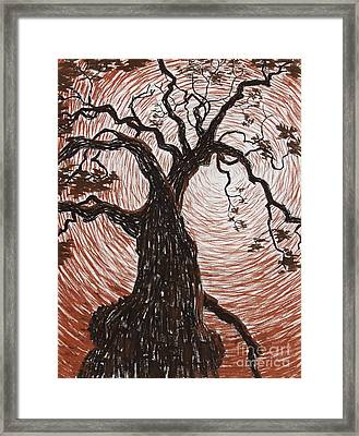 Reaching Out Framed Print by Philip Tolok